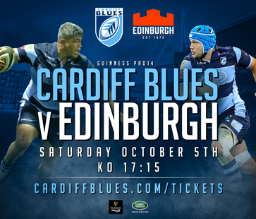Next game - Edinburgh