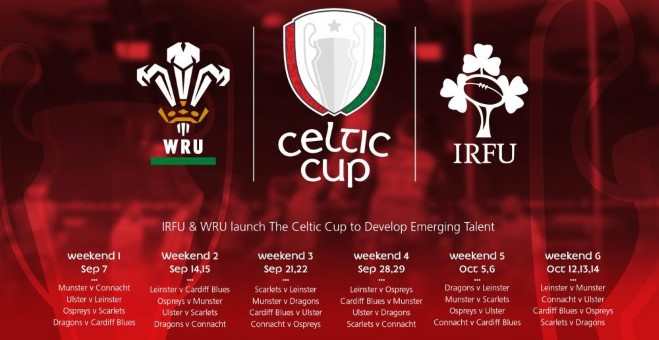 Celtic Cup launched to develop emerging talent | Cardiff Blues