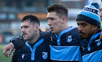 Adams to make Cardiff Blues debut as Lee-Lo hits 100