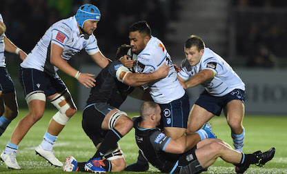 Robinson proud of Cardiff Blues spirit in Glasgow