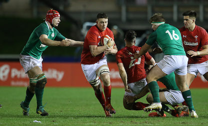 Warren and Davies start for Wales under-20