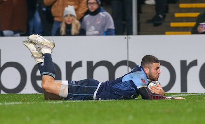Voting for Cardiff Blues Try and Hit of the Month now open!