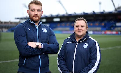 Sam Moore joins Cardiff Blues with immediate effect