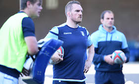 Cardiff Blues A itching to get competitive action underway - Jenkins