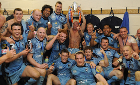 Ten year anniversary of Cardiff Blues stunning EDF Energy Cup triumph