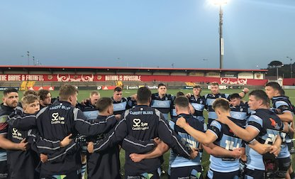 Munster A 28 Cardiff Blues A 7