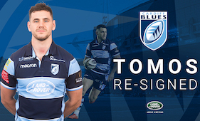 Tomos Williams signs on the dotted line