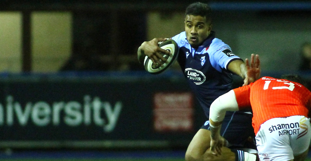Cardiff Blues 23 Munster 33