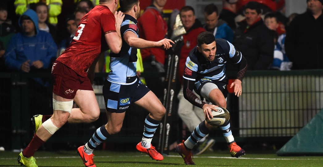 Munster 45 Cardiff Blues 21