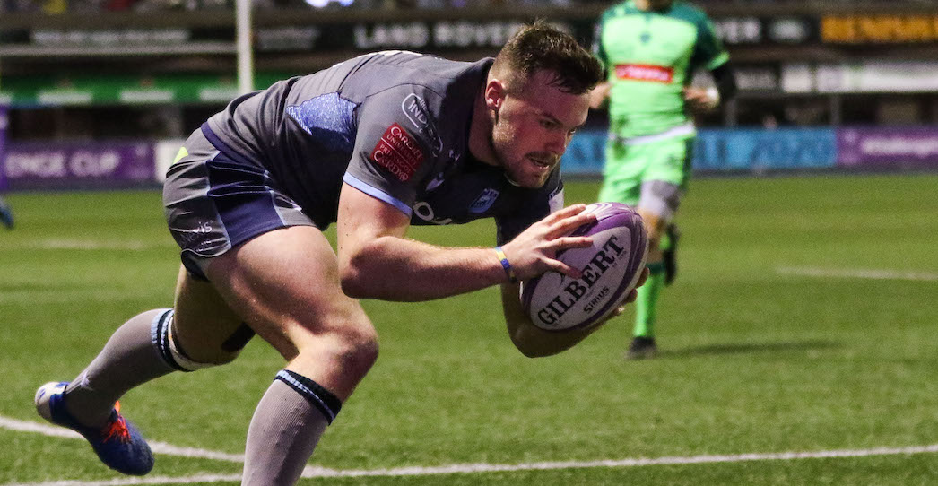 Section Paloise 34 Cardiff Blues 29