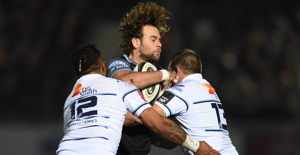 Glasgow Warriors 17 Cardiff Blues 13