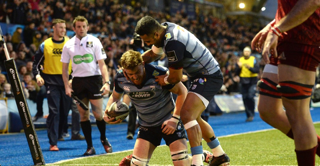 Cardiff Blues 25 Munster Rugby 18