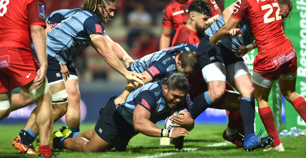 Toulouse 15 Cardiff Blues 17