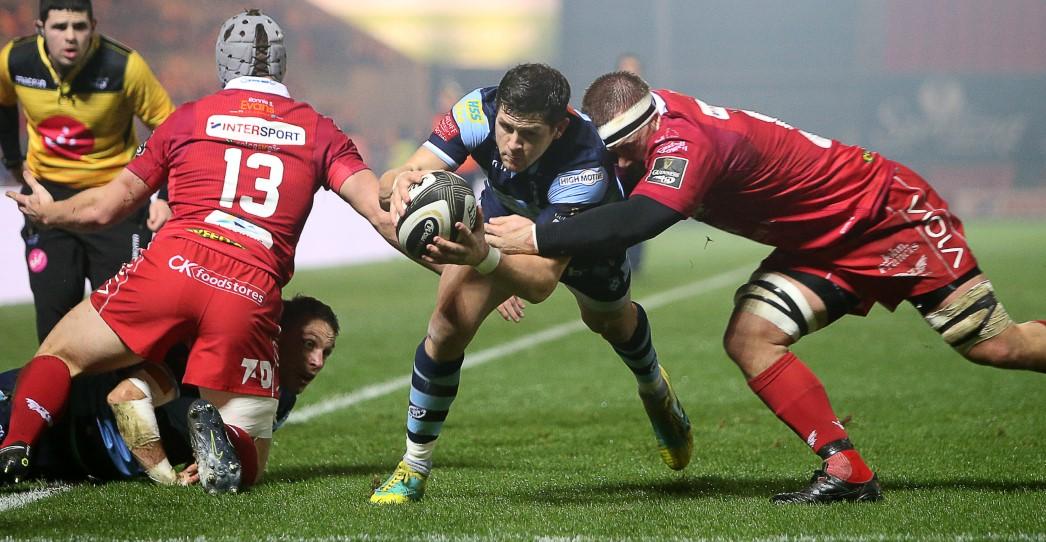 Scarlets 5 Cardiff Blues 34