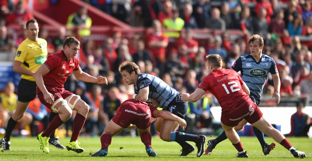 Munster 39 Cardiff Blues 16