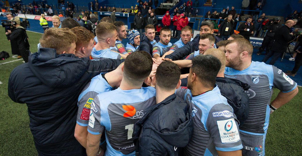 We are Cardiff Blues